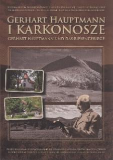 Gerhart Hauptmann i Karkonosze = Gerhart Hauptmann und Das Riesengebirge - folder [Dokument życia społecznego]