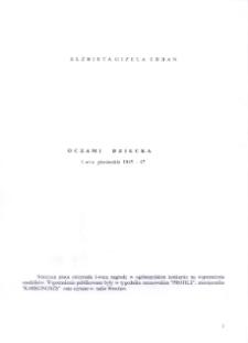 Oczami dziecka : lata pionierskie 1945-1947