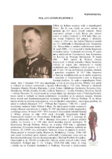Pułkownik Jan Antoni Filipowicz : wspomnienia [Dokument elektroniczny]