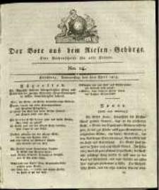 Der Bote aus dem Riesen-Gebirge : eine Wochenschrift für alle Stände, R. 1, 1813, nr 14