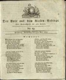 Der Bote aus dem Riesen-Gebirge : eine Wochenschrift für alle Stände, R. 1, 1813, nr 19