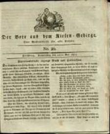 Der Bote aus dem Riesen-Gebirge : eine Wochenschrift für alle Stände, R. 1, 1813, nr 20