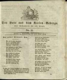 Der Bote aus dem Riesen-Gebirge : eine Wochenschrift für alle Stände, R. 1, 1813, nr 23