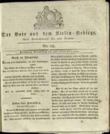 Der Bote aus dem Riesen-Gebirge : eine Wochenschrift für alle Stände, R. 1, 1813, nr 39