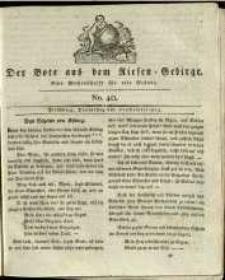 Der Bote aus dem Riesen-Gebirge : eine Wochenschrift für alle Stände, R. 1, 1813, nr 40