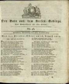 Der Bote aus dem Riesen-Gebirge : eine Wochenschrift für alle Stände, R. 1, 1813, nr 43