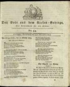 Der Bote aus dem Riesen-Gebirge : eine Wochenschrift für alle Stände, R. 1, 1813, nr 44