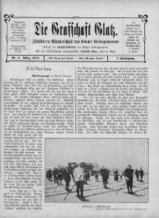 Die Grafschaft Glatz : Illustrierte Monatschrift des Glatzer Gebirgsvereins, Jr. 7, 1912, nr 3