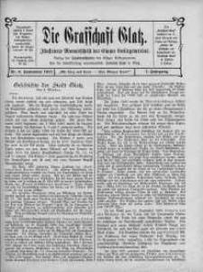Die Grafschaft Glatz : Illustrierte Monatschrift des Glatzer Gebirgsvereins, Jr. 7, 1912, nr 9