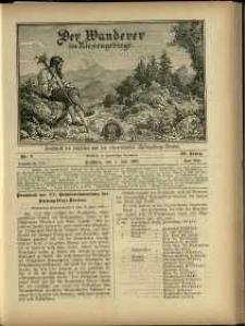 Der Wanderer im Riesengebirge, 1900, nr 7
