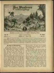 Der Wanderer im Riesengebirge, 1900, nr 10