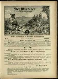 Der Wanderer im Riesengebirge, 1903, nr 9