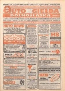 Auto Giełda Dolnośląska : pismo dla kupujących i sprzedających samochody, R. 3, 1994, nr 7 (96) [19.02]