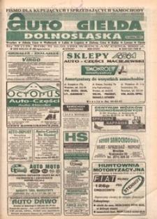 Auto Giełda Dolnośląska : pismo dla kupujących i sprzedających samochody, R. 3, 1994, nr 39 (128) [30.09]