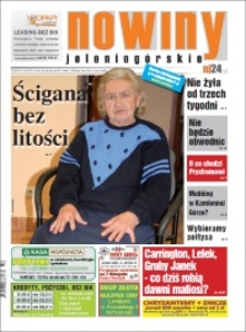 Nowiny Jeleniogórskie : tygodnik społeczny, R.52!, 2011, nr 43 (2731) [Dokument elektroniczny]