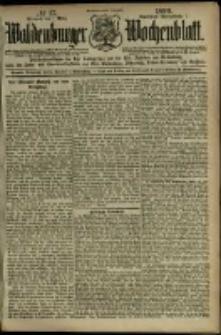 Waldenburger Wochenblatt, Jg. 45, 1899, nr 17