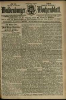 Waldenburger Wochenblatt, Jg. 45, 1899, nr 41