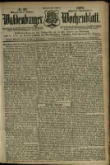 Waldenburger Wochenblatt, Jg. 45, 1899, nr 97