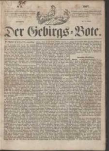 Der Gebirgsbote, 1867, nr 2