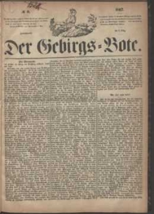 Der Gebirgsbote, 1867, nr 9