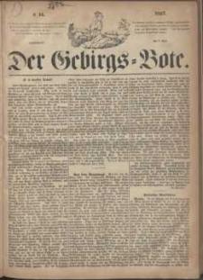 Der Gebirgsbote, 1867, nr 14