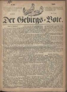 Der Gebirgsbote, 1867, nr 15