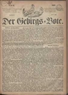 Der Gebirgsbote, 1867, nr 17