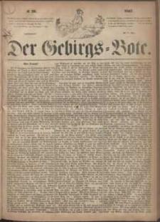 Der Gebirgsbote, 1867, nr 20