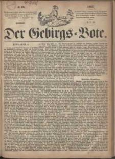 Der Gebirgsbote, 1867, nr 30