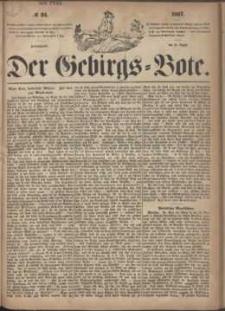 Der Gebirgsbote, 1867, nr 34