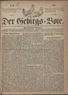 Der Gebirgsbote, 1867, nr 51