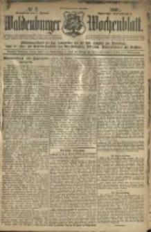 Waldenburger Wochenblatt, Jg. 47, 1901, nr 2