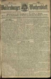 Waldenburger Wochenblatt, Jg. 47, 1901, nr 4