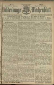 Waldenburger Wochenblatt, Jg. 47, 1901, nr 6