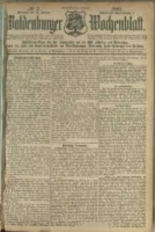 Waldenburger Wochenblatt, Jg. 47, 1901, nr 7