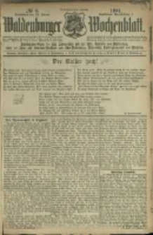 Waldenburger Wochenblatt, Jg. 47, 1901, nr 8