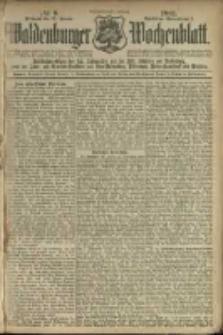 Waldenburger Wochenblatt, Jg. 47, 1901, nr 9