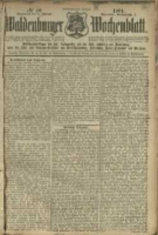 Waldenburger Wochenblatt, Jg. 47, 1901, nr 10