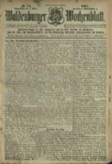 Waldenburger Wochenblatt, Jg. 47, 1901, nr 18