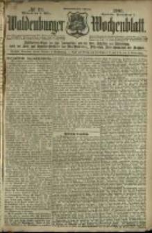 Waldenburger Wochenblatt, Jg. 47, 1901, nr 19