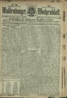 Waldenburger Wochenblatt, Jg. 47, 1901, nr 20