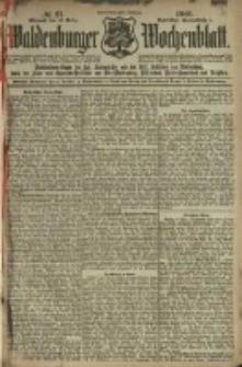 Waldenburger Wochenblatt, Jg. 47, 1901, nr 21