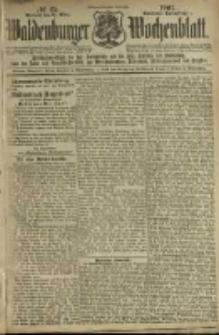 Waldenburger Wochenblatt, Jg. 47, 1901, nr 25