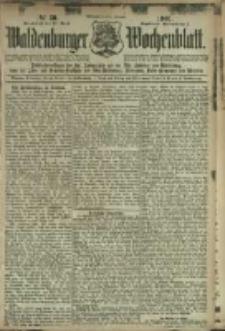 Waldenburger Wochenblatt, Jg. 47, 1901, nr 30