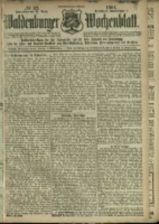 Waldenburger Wochenblatt, Jg. 47, 1901, nr 32