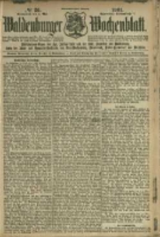 Waldenburger Wochenblatt, Jg. 47, 1901, nr 36
