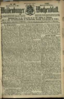 Waldenburger Wochenblatt, Jg. 47, 1901, nr 40