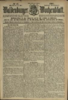 Waldenburger Wochenblatt, Jg. 47, 1901, nr 41