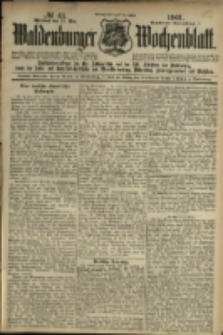 Waldenburger Wochenblatt, Jg. 47, 1901, nr 43