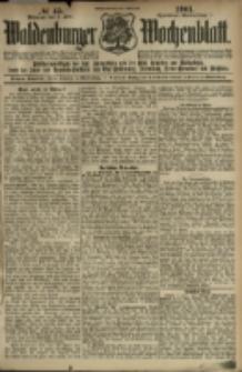 Waldenburger Wochenblatt, Jg. 47, 1901, nr 45